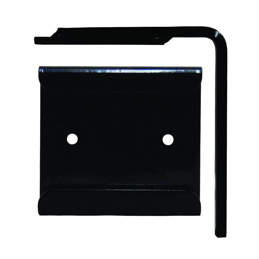 Federal Brace Wood Corbel Converter Mounting Bracket 4-in x 1-in x 5-in Black Countertop Support Bracket