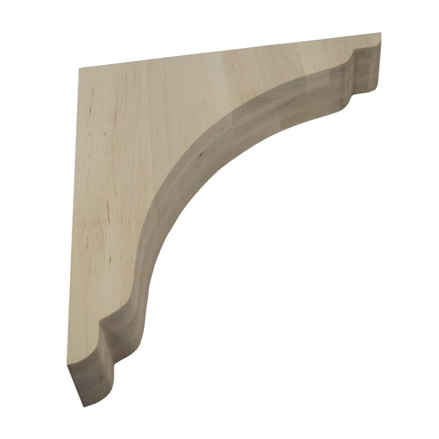 Federal Brace 3-in x 18-in Wood Corbel