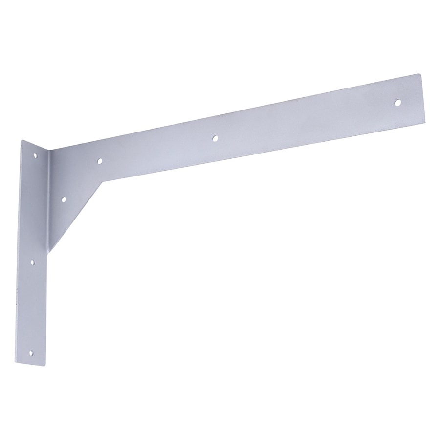 Shop federal brace titus 10 in x 2 in x 18 in galvanized for Granite countertop support requirements
