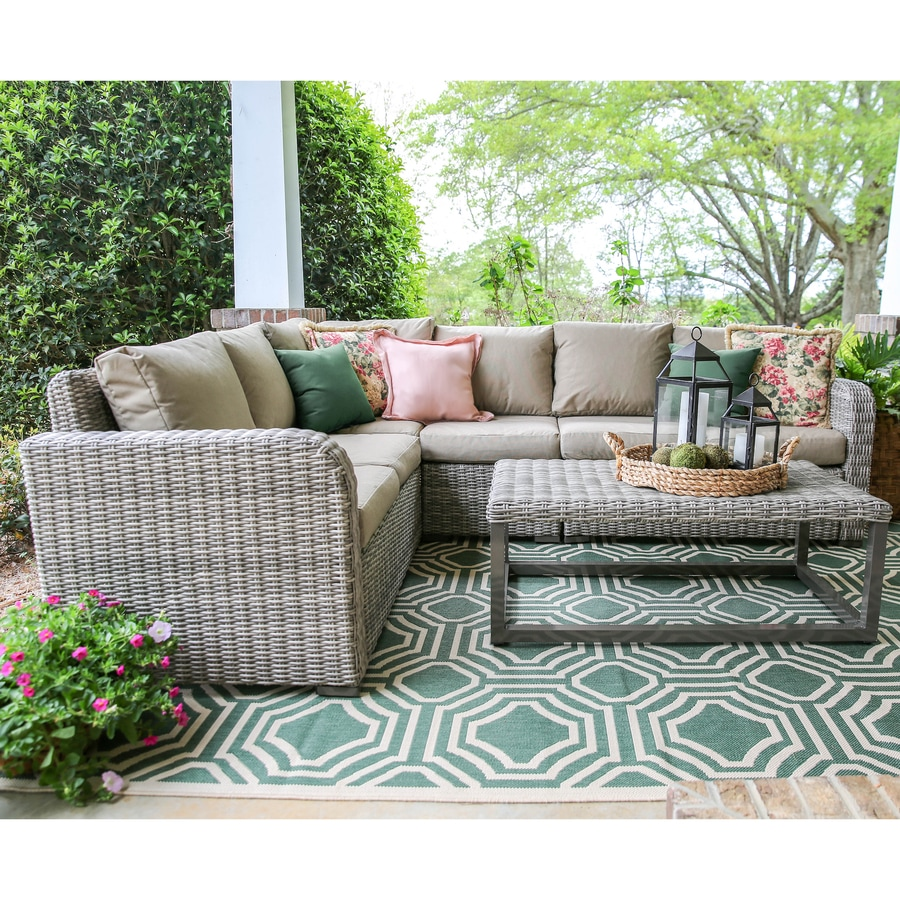 Leisure Made Patio Conversation Set