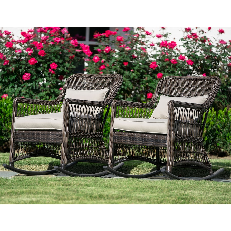 fabulous products wicker fascinating resin patio cushions choice porch all best rocking rocker weather deck chair