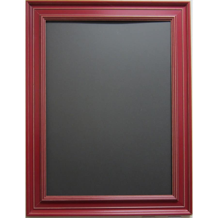 Shop Alpine Art Mirror 26 In X 32 In Red Rectangle Framed Wall