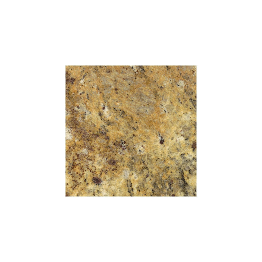 Shop Sensa Santa Cecilia Granite Kitchen Countertop Sample