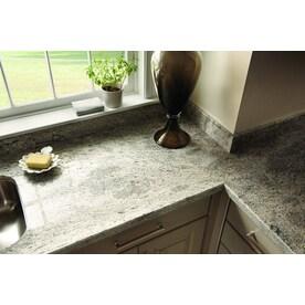 Sensa Silver Silk Granite Kitchen Countertop Sample At