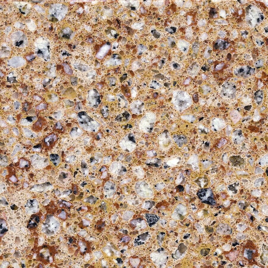 Silestone Pulsar Quartz Kitchen Countertop Sample At Lowes Com: Shop Silestone Amarilla Palmira Quartz Kitchen Countertop