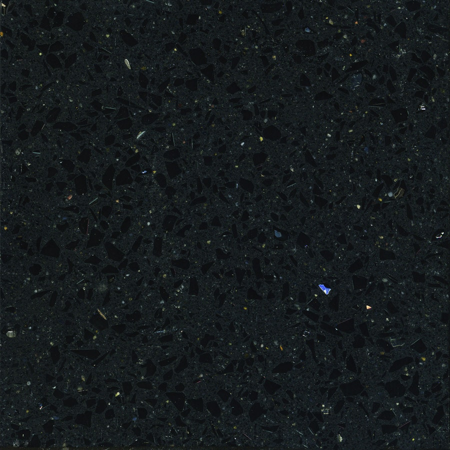 Silestone Stellar Night Quartz Kitchen Countertop Sample
