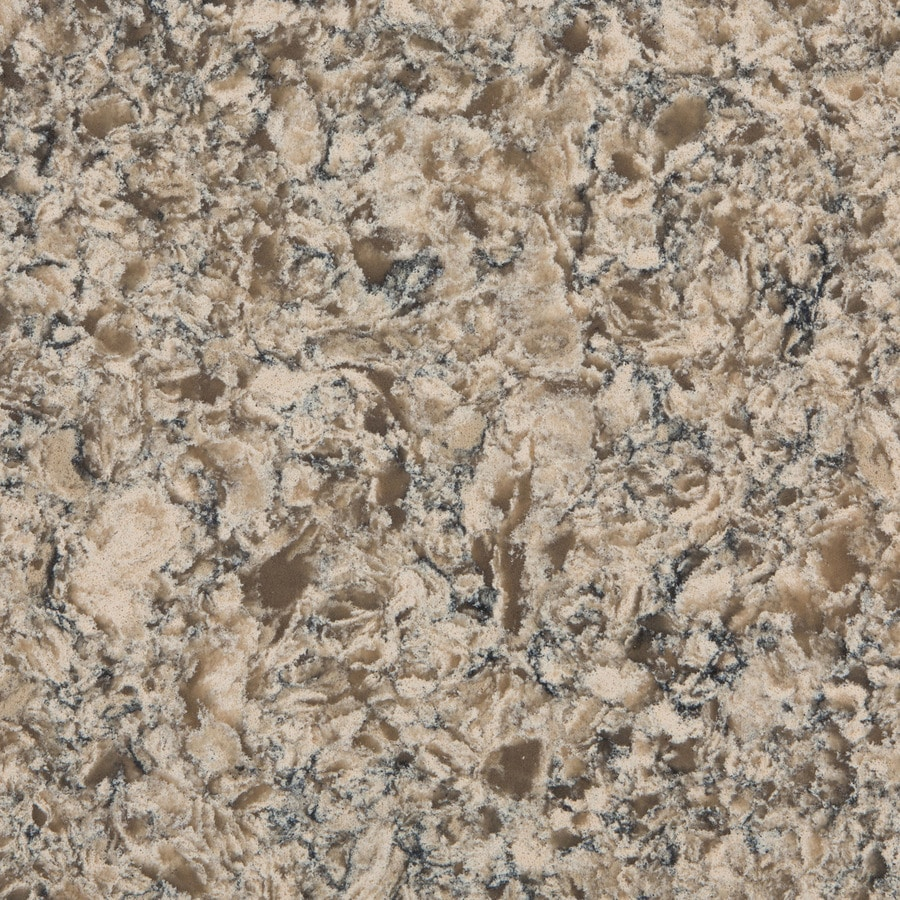 Shop silestone mediterranean quartz kitchen countertop Price of silestone