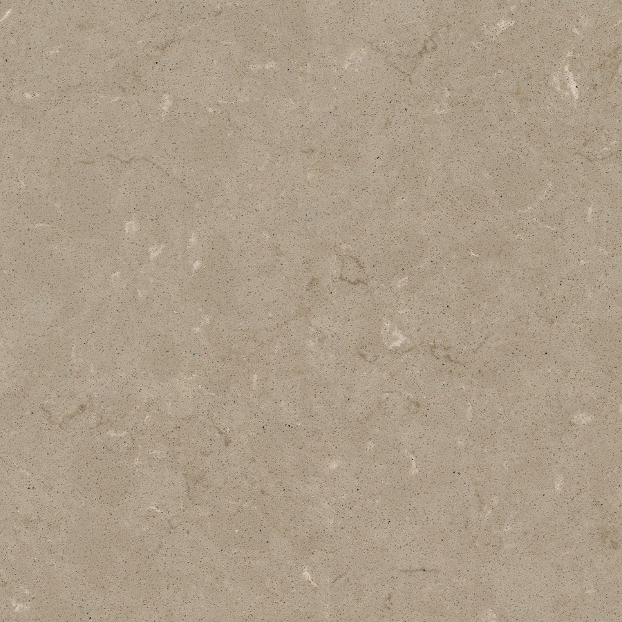 Shop Silestone Coral Clay Sample Quartz Kitchen Countertop