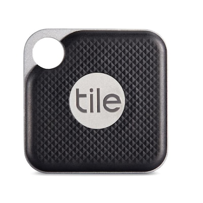 Tile Black Home Automation Item Tracker by Lowe's