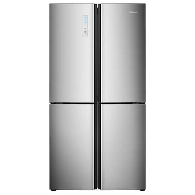 Hisense 20-cu ft 4-Door Counter-depth French Door Refrigerator