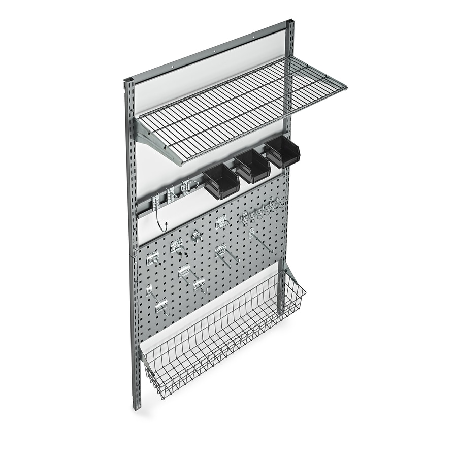 Storability 25-Piece Steel Pegboard (Actual: 33-in x 63-in)