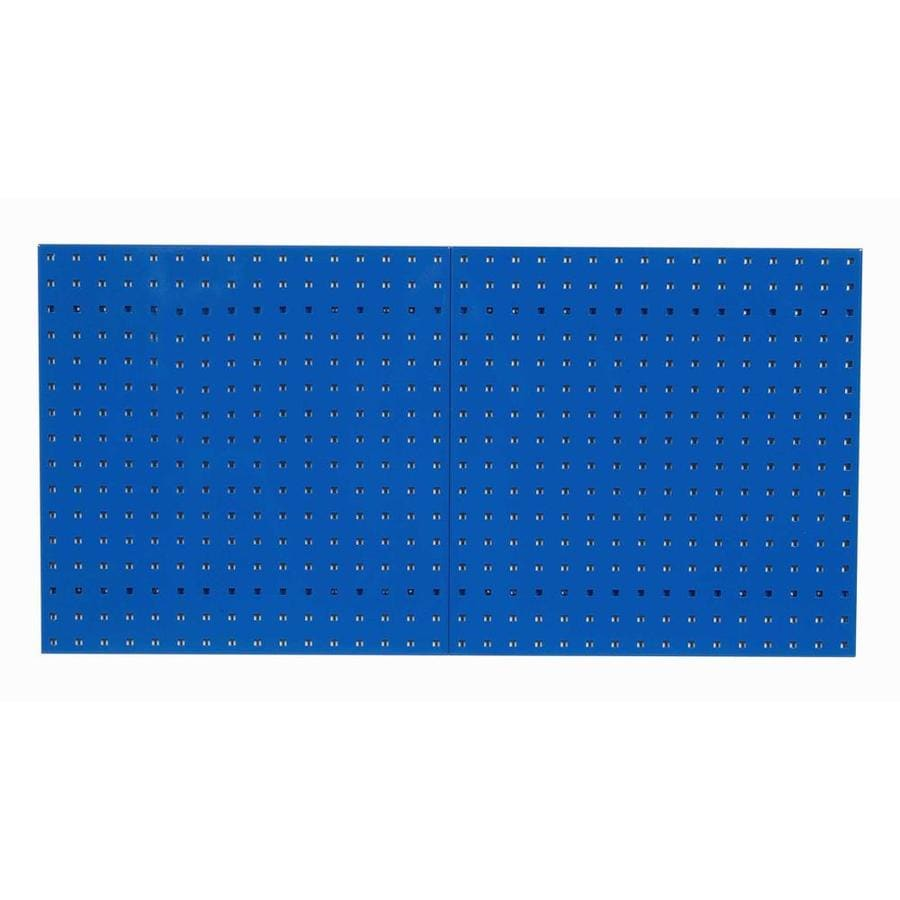 LocBoard 2-Piece Steel Pegboard (Actual: 24-in x 24-in)