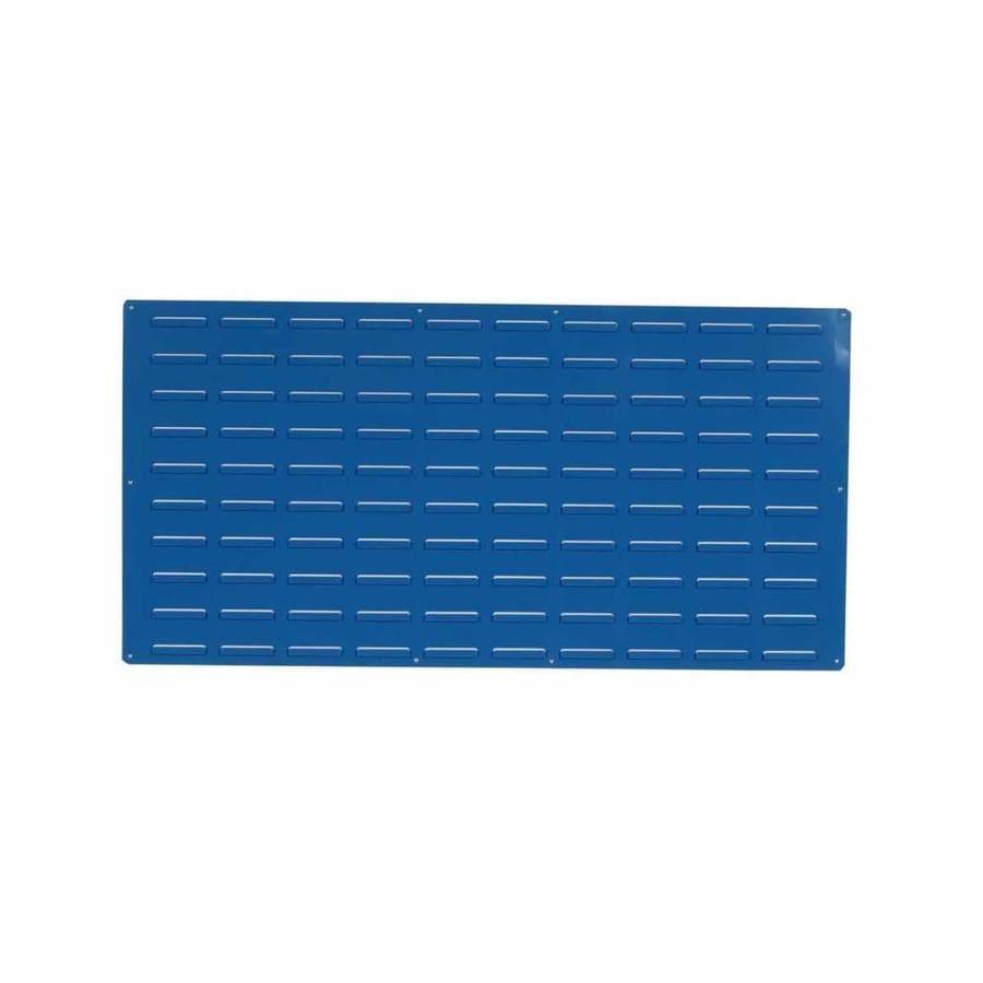 Shop LocBin Louvered Panel 2-Piece Steel Pegboard (Actual: 24-in x ...