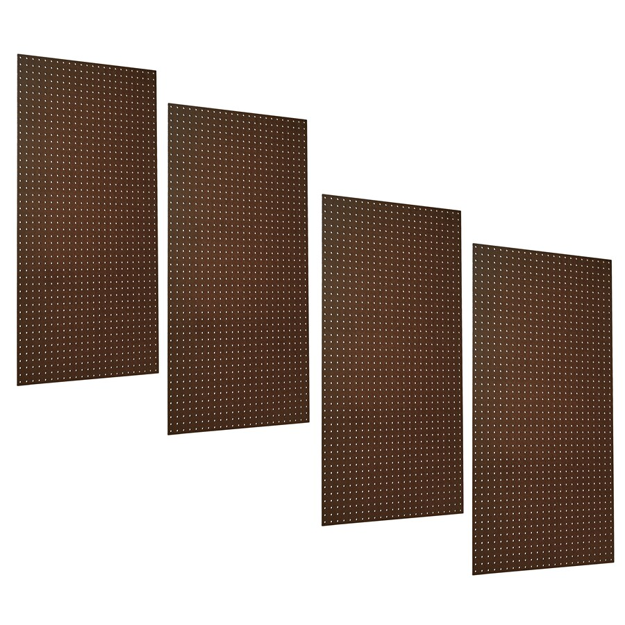 Triton Products 4-Piece Hardboard Pegboard (Actual: 24-in x 48-in)