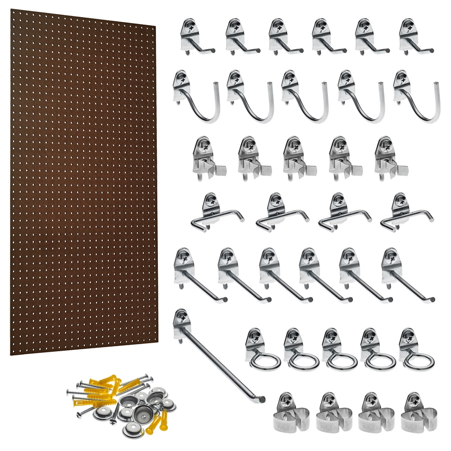 Triton Products Hardboard Pegboard (Actual: 24-in x 48-in)