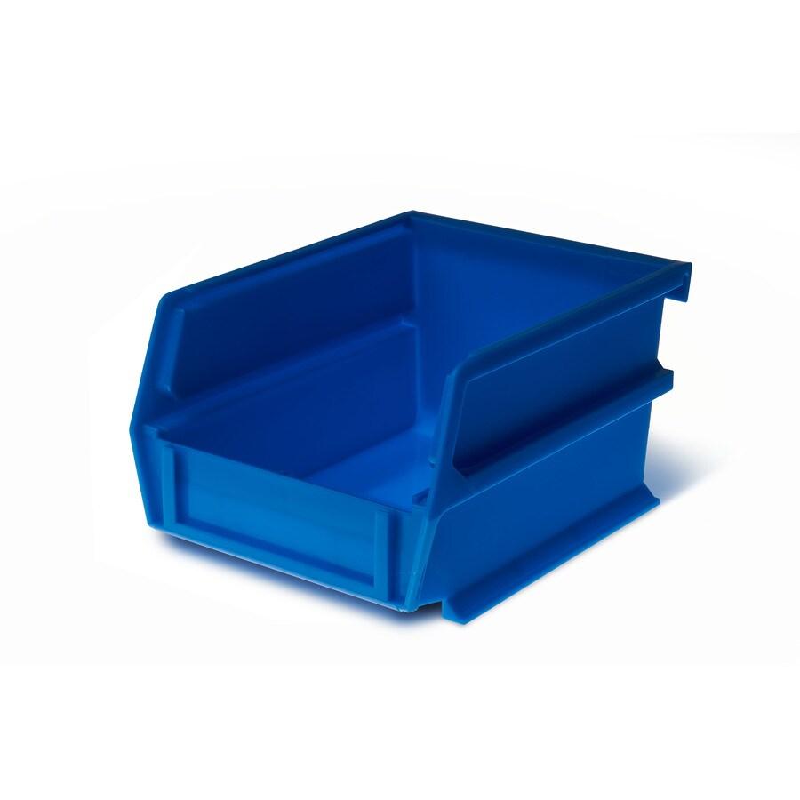LocBin 24-Pack 4.125-in W x 3-in H x 5.375-in D Blue Plastic Bins