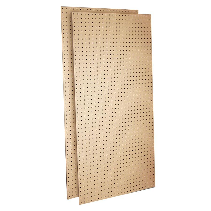 DuraBoard Tempered Hardwood Hardboard Pegboard (Common: 24