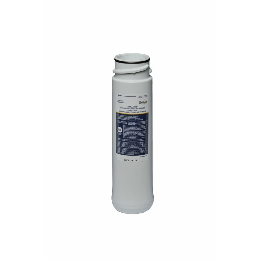 Shop whirlpool under sink membrane filter with reverse osmosis filtration at - Lowes water filter under sink ...