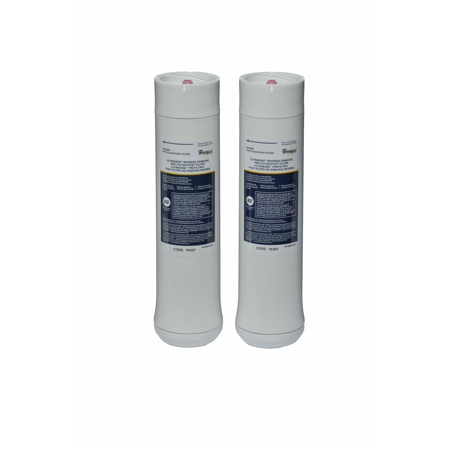 Whirlpool 2-Pack Under Sink Replacement Filters with Reverse Osmosis Filtration