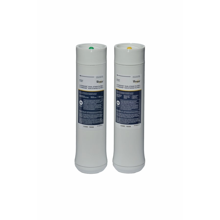 Shop whirlpool 2 pack under sink replacement filters at - Lowes water filter under sink ...