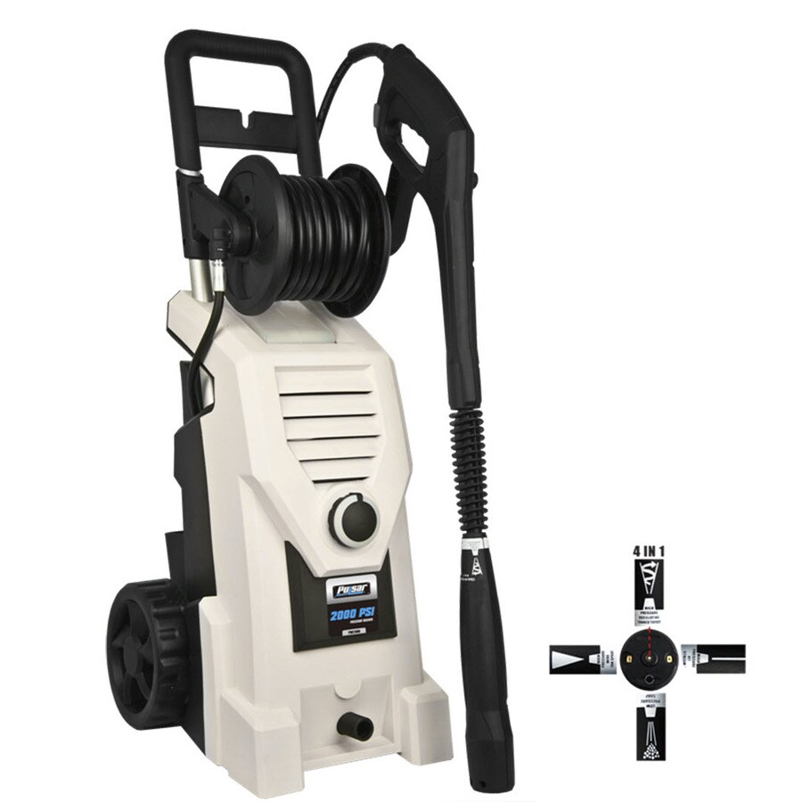 Pulsar Products 2000-PSI 1.6-GPM Cold Water Electric Pressure Washer