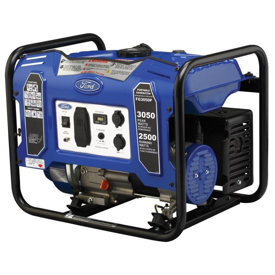 Ford 2,500-Running-Watt Portable Generator with Briggs & Stratton Engine