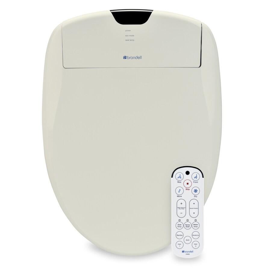 Brondell Swash 1400 Plastic Elongated Slow-Close Heated Bidet Toilet Seat