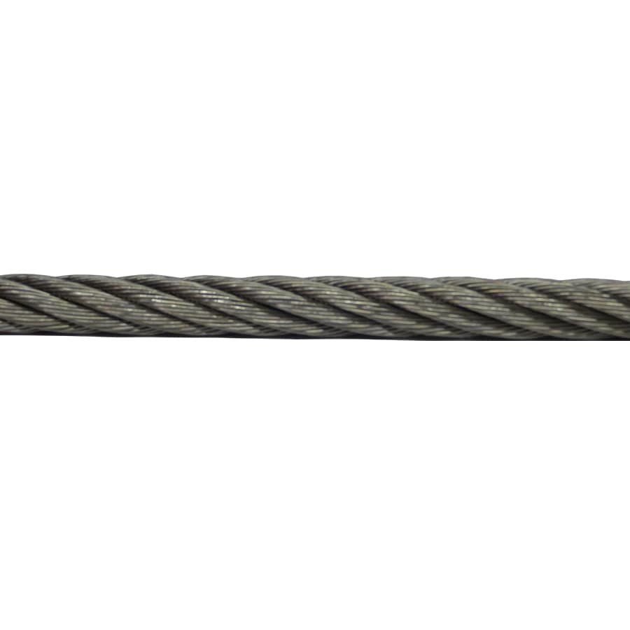 AWR 1-ft 3/8-in Weldless Stainless Steel Metal Cable (By-The-Foot)
