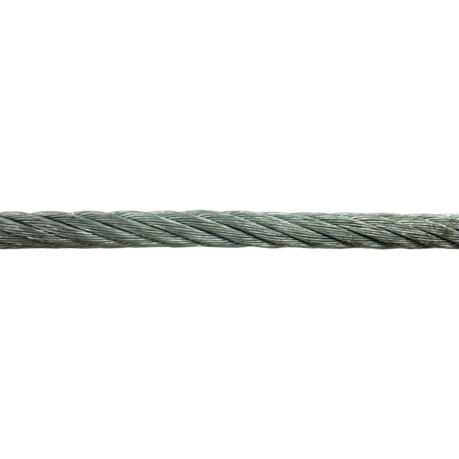 3 8 Steel Cable : Shop awr ft in weldless galvanized metal cable by