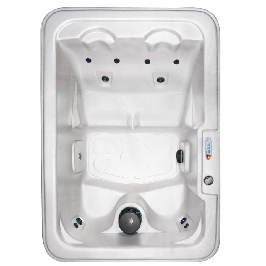 QCA Spas 4-Person Rectangular Hot Tub