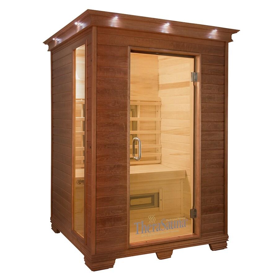 TheraSauna 78-in H x 57-in W x 52-in D Indoor Sauna