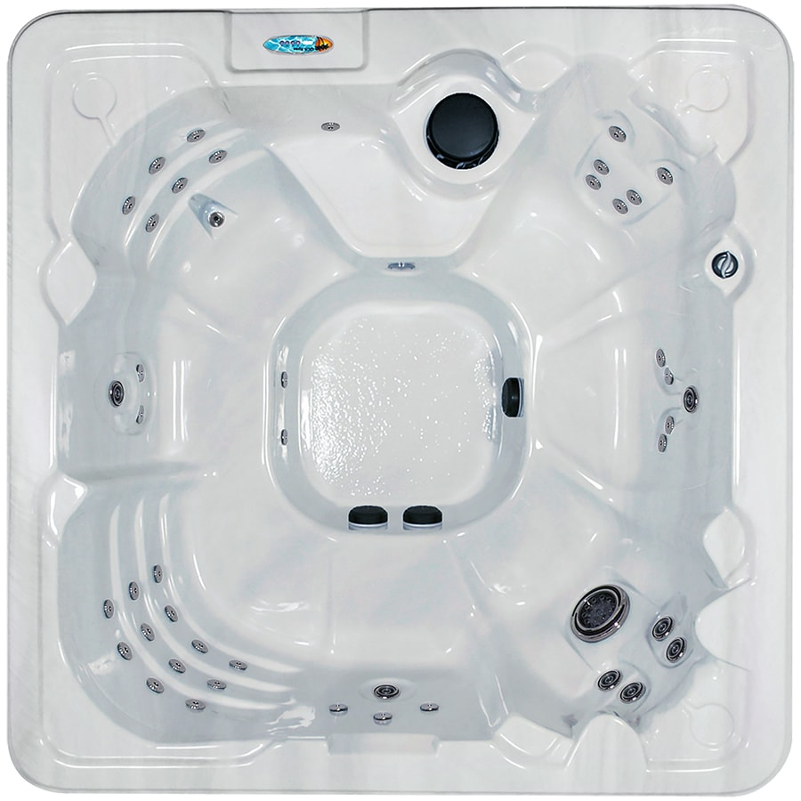 QCA Spas 8-Person Square Hot Tub