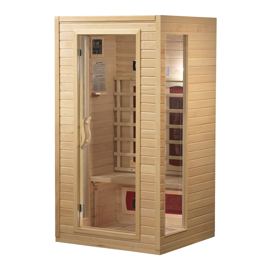 Better Life 72-in H x 39-in W x 36-in D Hemlock Fir Wood Indoor Sauna