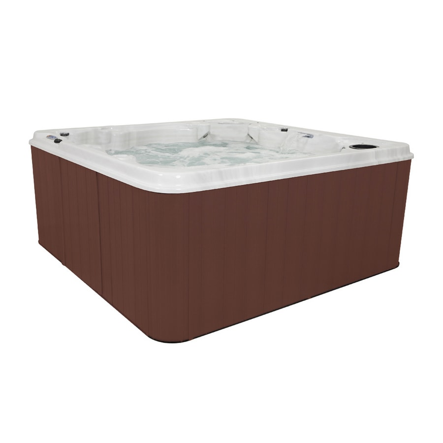 QCA Spas American Silver Marble 6 Person Spa