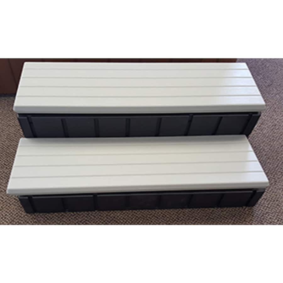 Shop QCA Spas Confer Resin 36-in Hot Tub and Spa Steps at Lowes.com