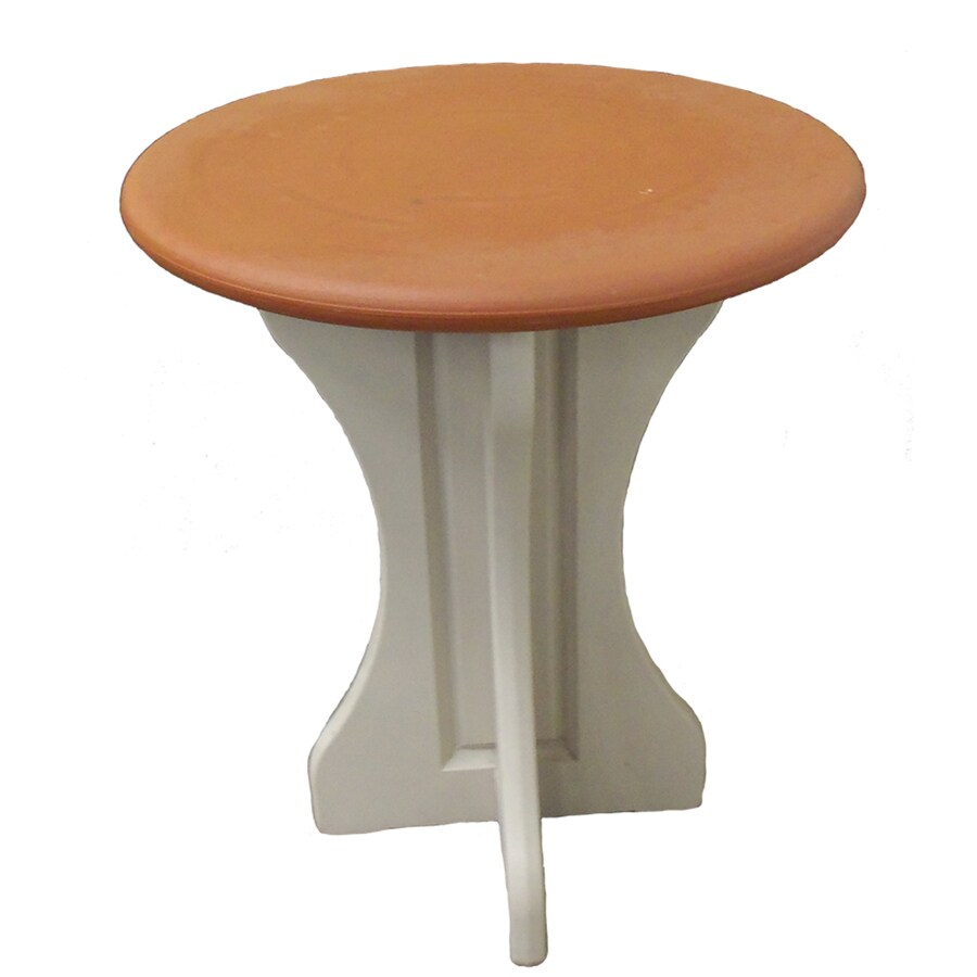 QCA Spas 30-in W x 30-in L Round Resin Bistro Table