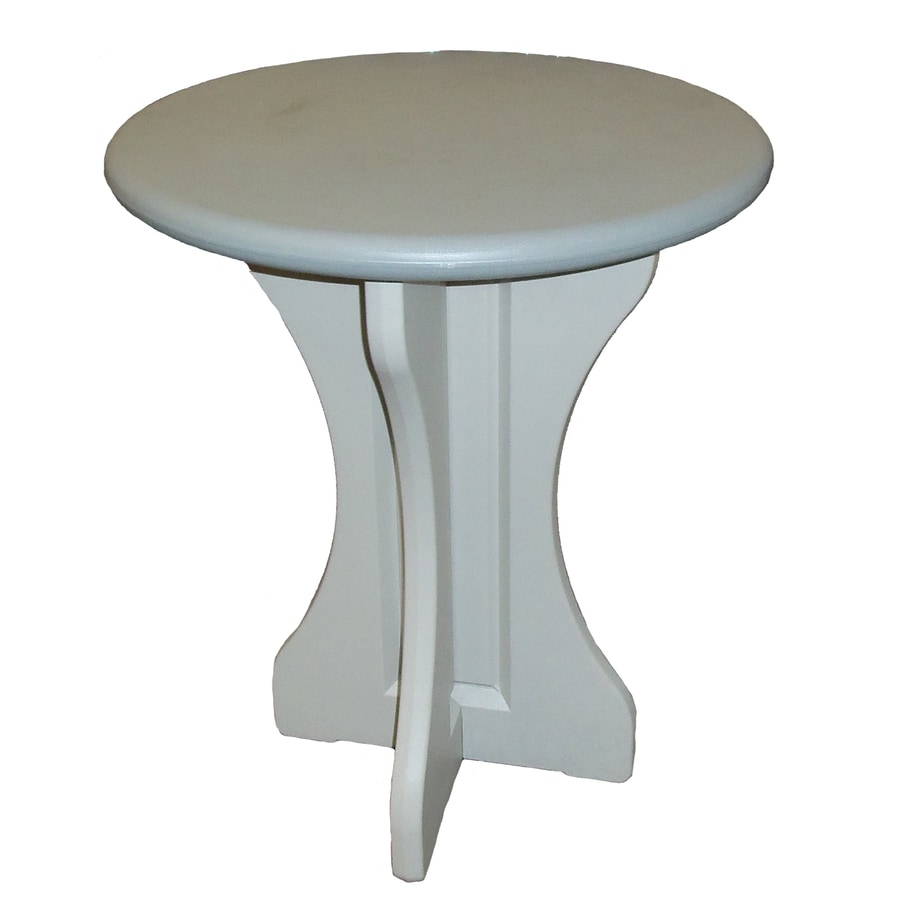 QCA Spas 36-in W x 36-in L Round Resin Bistro Table
