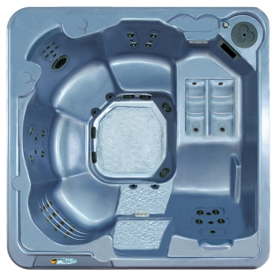 Shop QCA Spas 6-Person Square Hot Tub at Lowes.com
