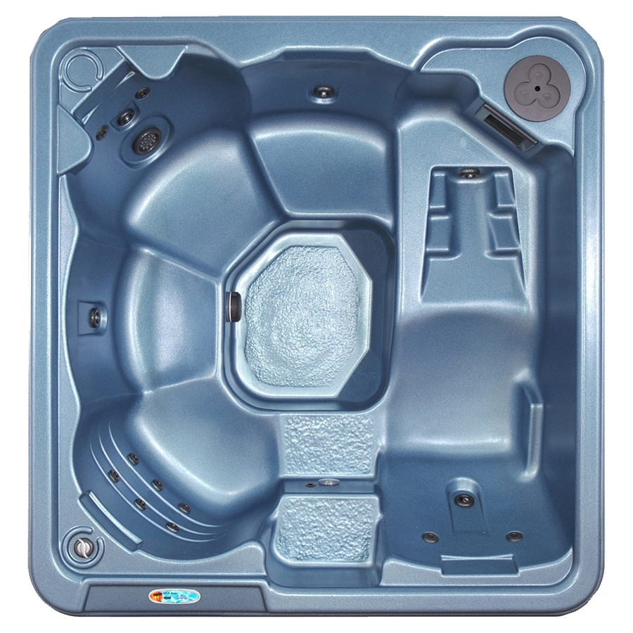 QCA Spas 6-Person Rectangular Hot Tub