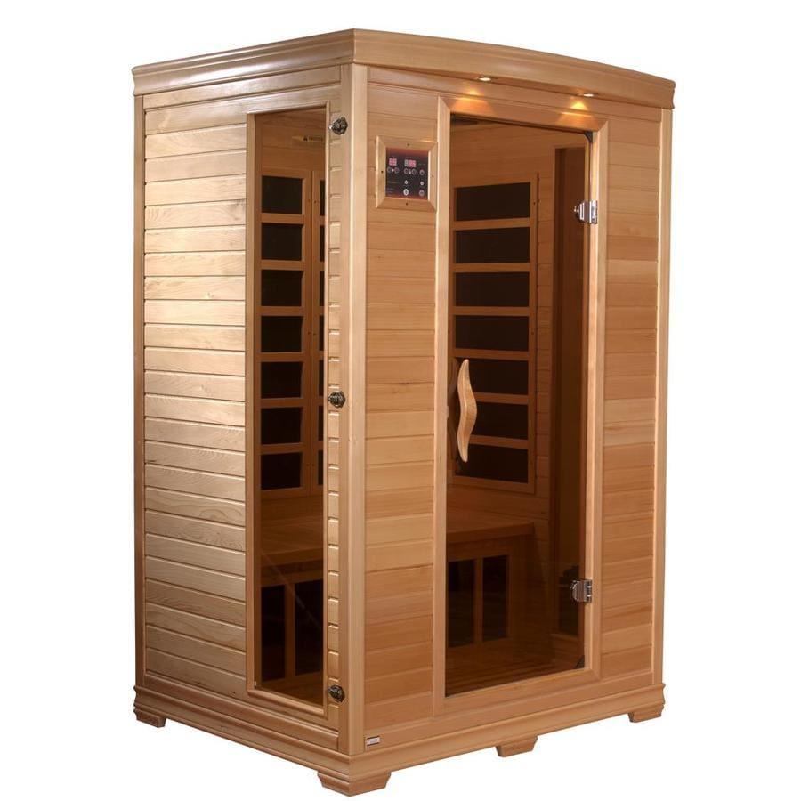 Better Life 77-in H x 42-in W x 48-in D Hemlock Fir Wood Indoor Sauna