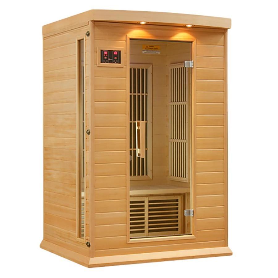 Better Life 75-in H x 50-in W x 42-in D Hemlock Fir Wood Sauna