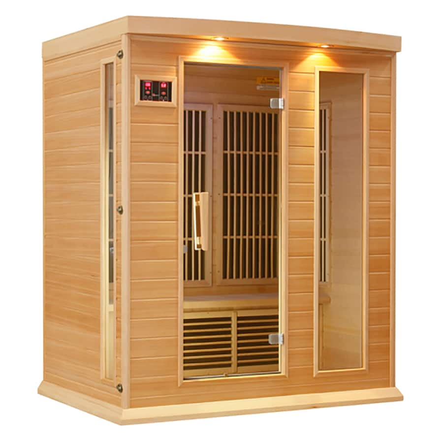 Better Life 75-in H x 64-in W x 44-in D Hemlock Fir Wood Sauna