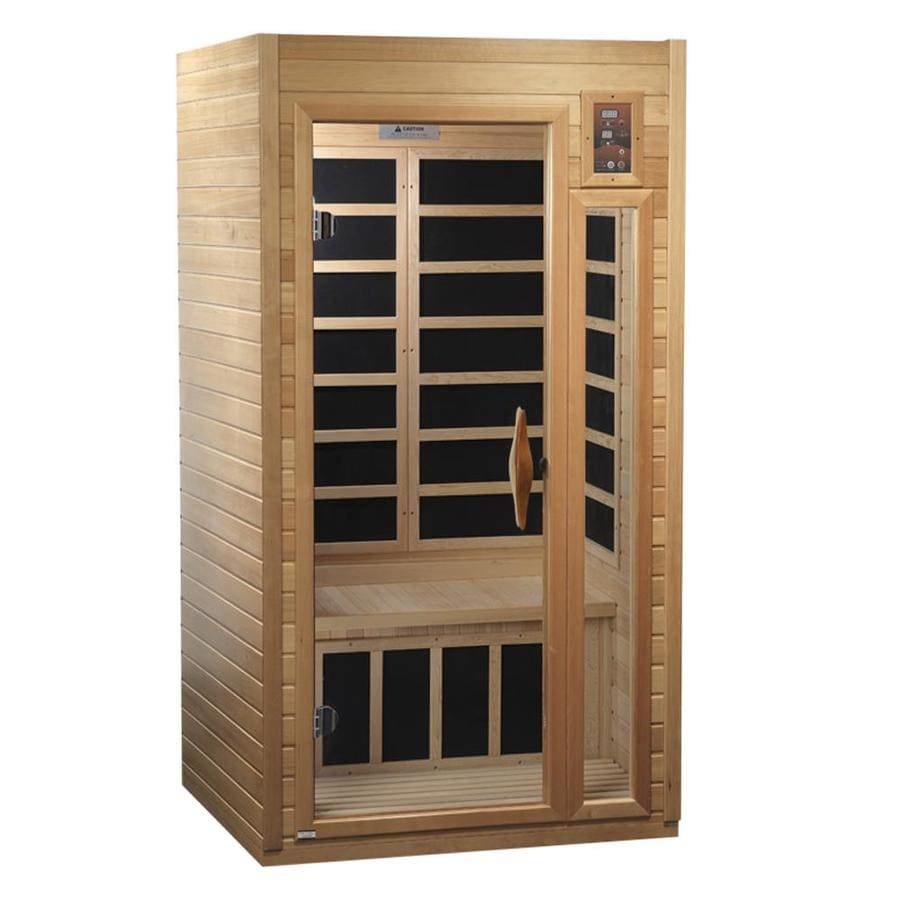 Better Life 75-in H x 39-in W x 36-in D Hemlock Fir Wood Sauna
