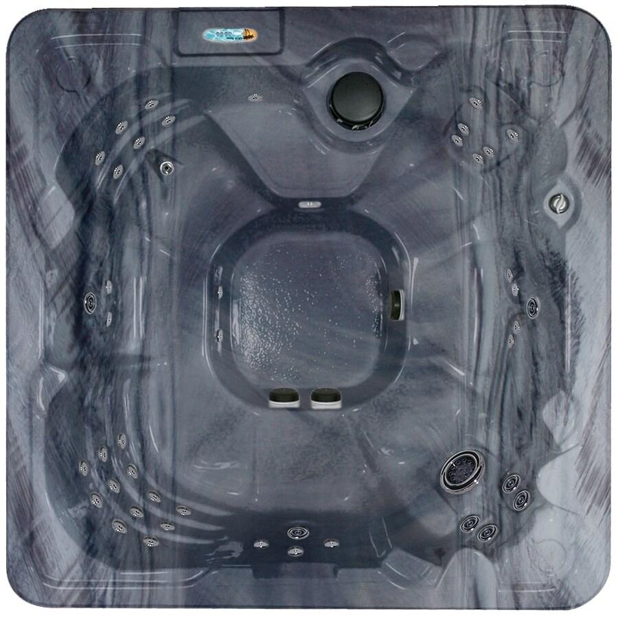 QCA Spas 8-Person Square Hot Tub