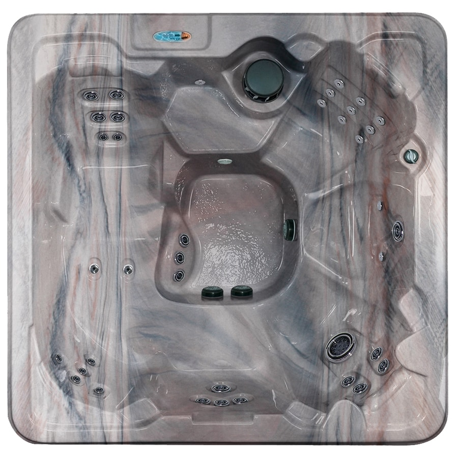 Shop QCA Spas 7-Person Square Hot Tub at Lowes.com