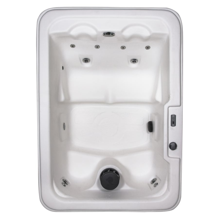 Shop QCA Spas 4-Person Rectangular Hot Tub at Lowes.com