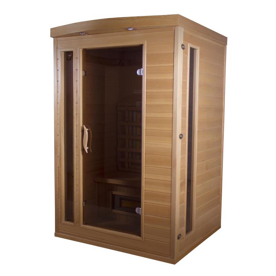 TheraSauna 75-in H x 48-in W x 42-in D Hemlock Fir Wood Sauna