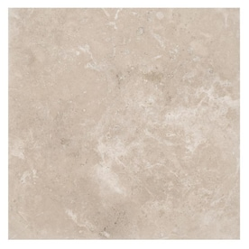 DECORASTONE & TILE Durango Supreme Beige/Honed and Filled 18-in x 18-in Honed Natural Stone Travertine Stone Look Floor Tile