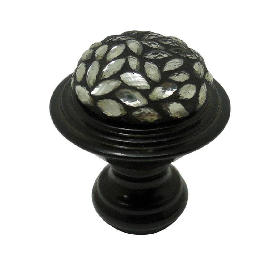 Style Selections Bronze Round Cabinet Knob