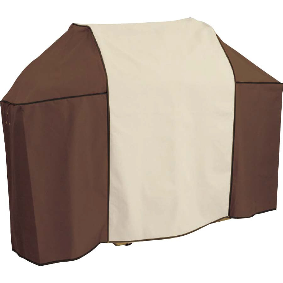 Master Forge 60-in x 47-in Khaki and Brown Vinyl Gas Grill Cover